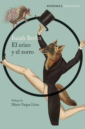 portada del libro el erizo y el zorro