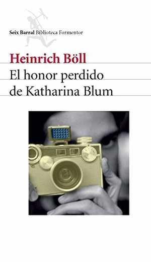 portada del libro el honor perdido de Katharina Blum