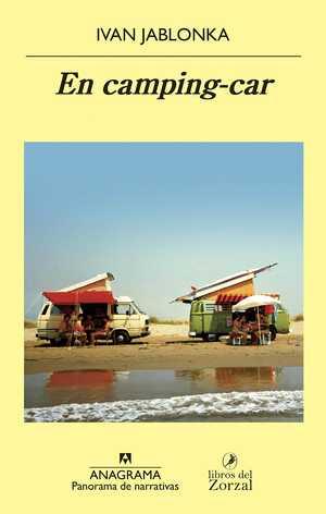 portada del libro en camping-car