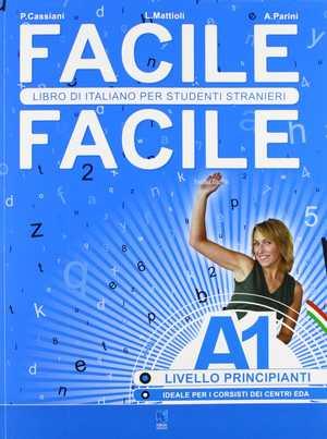portada del libro facile facile A1