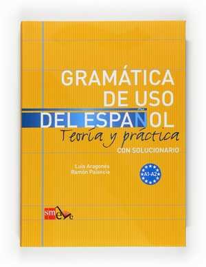 portada del libro gramática de uso del Español A1-A2