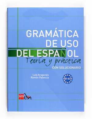 portada del libro gramática de uso del Español B1-B2