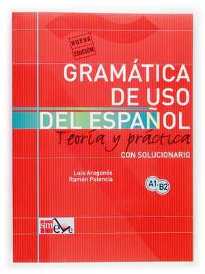 portada del libro gramática de uso del español A1-B2