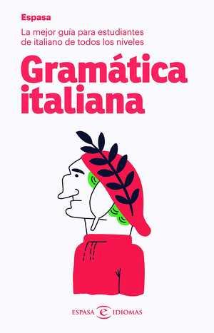 portada del libro gramática italiana
