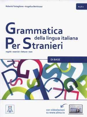 portada del libro grammatica della lingua italiana per stanieri a1