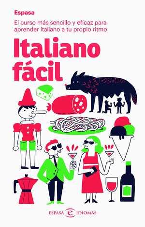 portada del libro italiano fácil