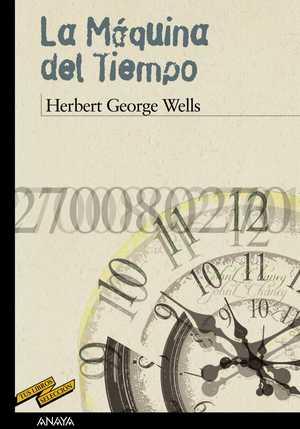 portada del libro la máquina del tiempo