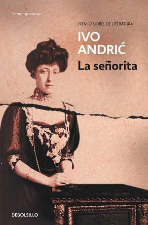 portada del libro la señorita