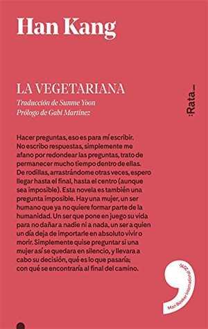 portada del libro la vegetariana