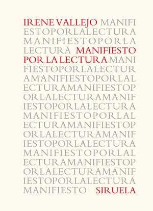 portada del libro manifiesto por la lectura