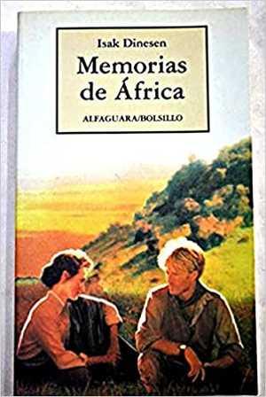 portada del libro memorias de África