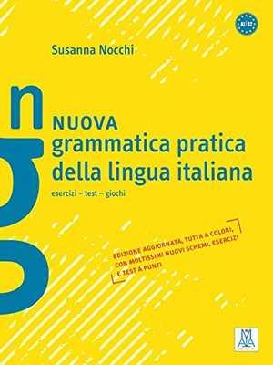 portada del libro nuova grammatica pratica della lingua italiana