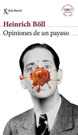 portada del libro opiniones de un payaso