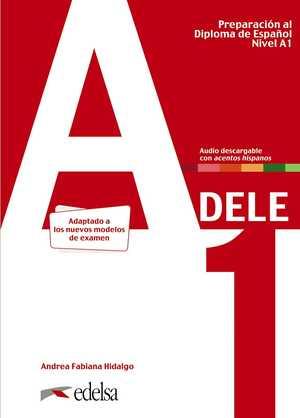 portada del libro preparación al DELE A1