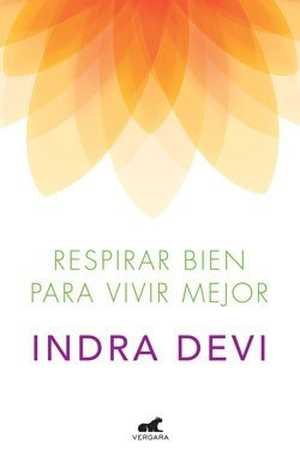 portada del libro respirar bien para vivir mejor