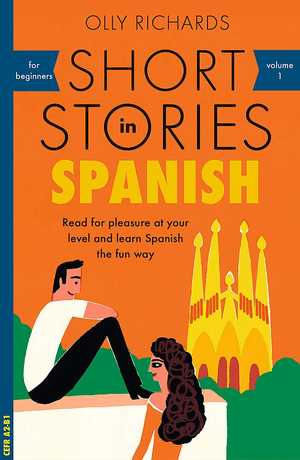portada del libro short Stories in Spanish for Beginners