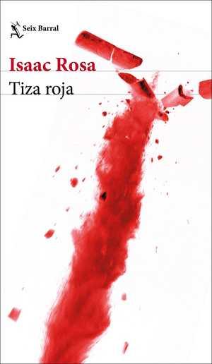 portada del libro tiza roja