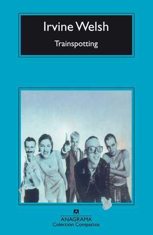 portada del libro trainspotting