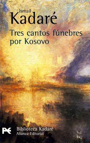 portada del libro tres cantos fúnebres por Kósovo