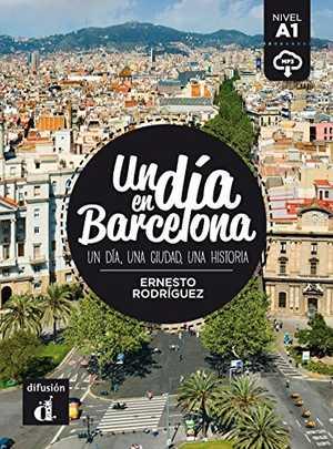 portada del libro un día en Barcelona