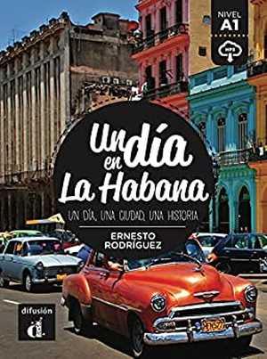 portada del libro un día en La Habana