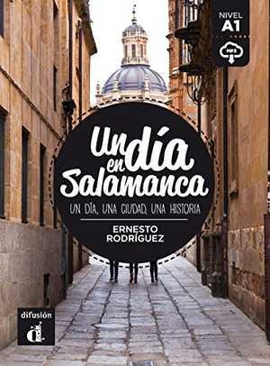 portada del libro un día en Salamanca