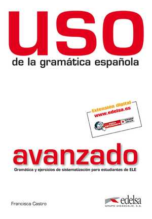 portada del libro uso de la gramática intermedio (nivel avanzado)