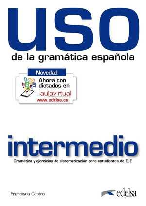 portada del libro uso de la gramática intermedio (nivel intermedio)