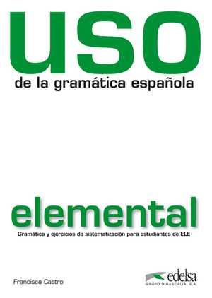 portada del libro uso de la gramática (nivel elemental)