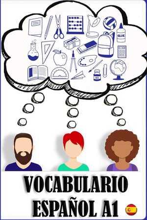 portada del libro vocabulario A1 español