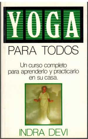 portada del libro yoga para todos