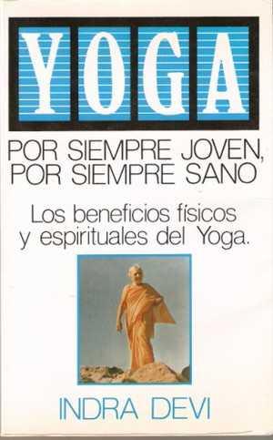 portada del libro yoga por siempre joven, por siempre sano