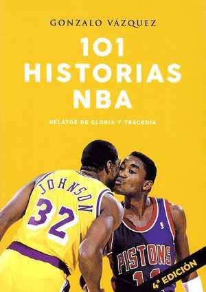 portada del libro 101 historias NBA