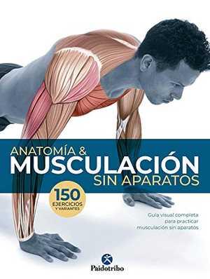 portada del libro anatomía & musculación sin aparatos