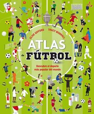 portada del libro atlas de fútbol