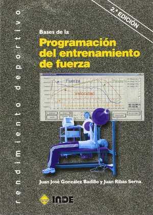 portada del libro bases de la Programación del entrenamiento de fuerza
