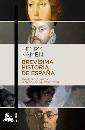 portada del libro brevísima historia de España