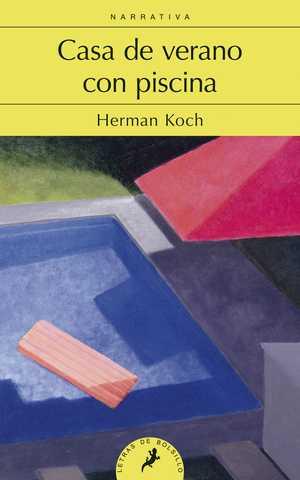 portada del libro casa de verano con piscina