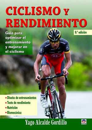 portada del libro ciclismo y rendimiento