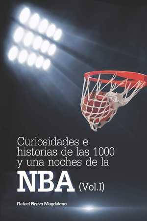portada del libro curiosidades e historias de las 1000 y una noches de la NBA