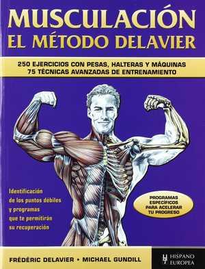 portada del libro el método Delavier