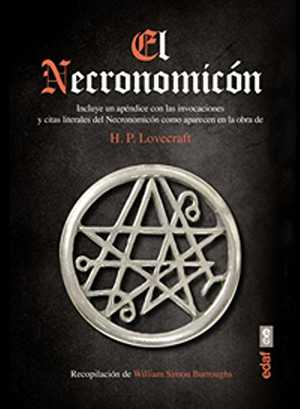 portada del libro el necronomicón