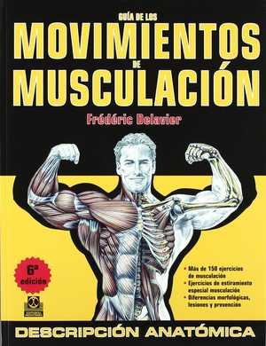 portada del libro guía de los movimientos de musculación