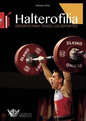 portada del libro halterofilia deporte para todos los deportes