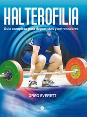 portada del libro halterofilia. Guía completa para deportistas y entrenadores