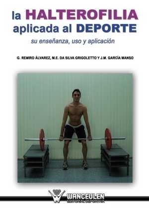 portada del libro la halterofilia aplicada al deporte
