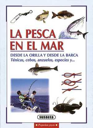 portada del libro la pesca en el mar