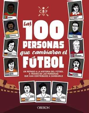 portada del libro las 100 mejores historias del fútbol