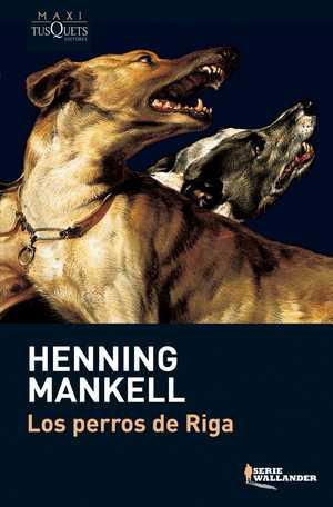 portada del libro los perros de Riga