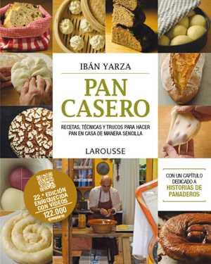 portada del libro pan casero